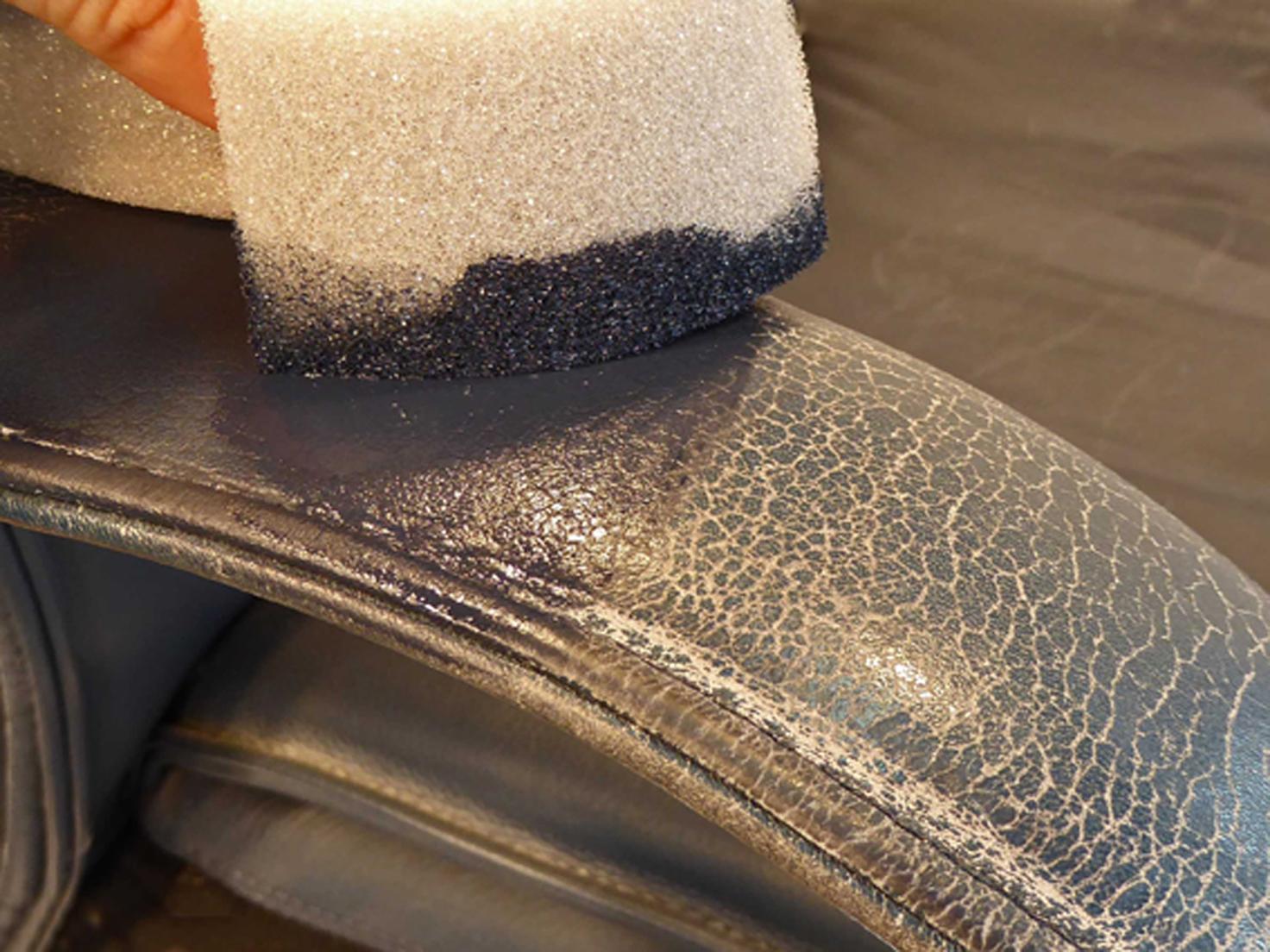 Zapatos de cuero, bolsas de cuero y sofá de cuero – todo queda reparado a la perfección