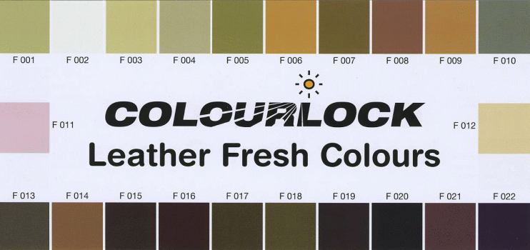 Carta colores Colourlock